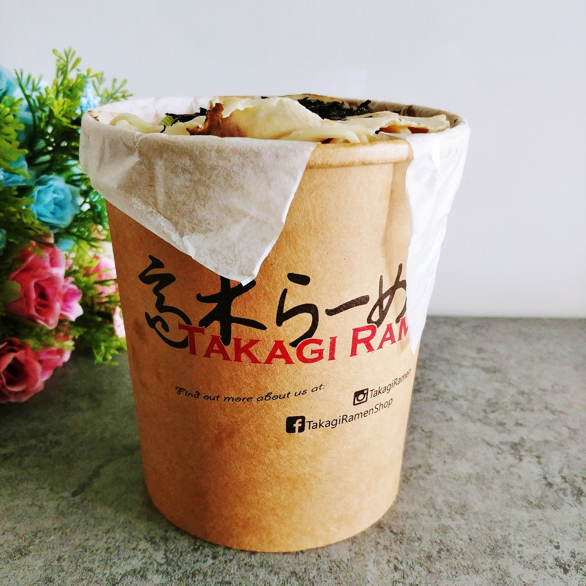 Takagi Ramen via honestbee food delivery