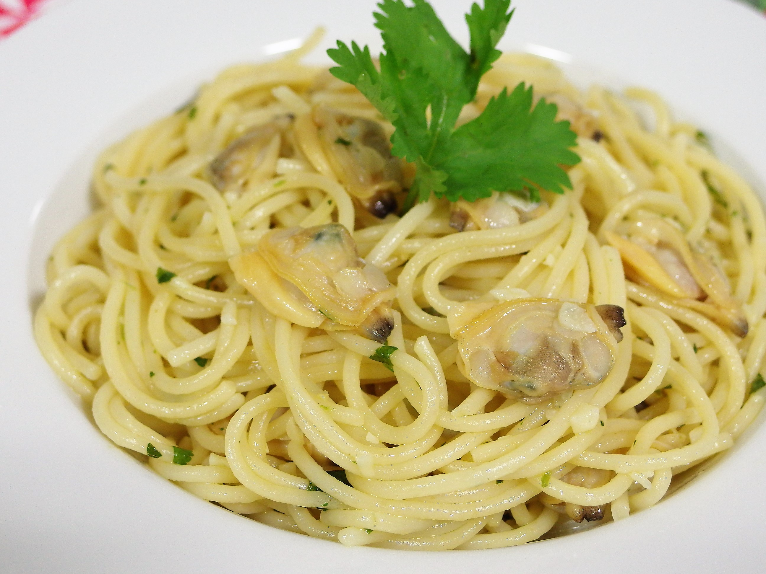 Garlic Butter Clams Spaghetti Recipe