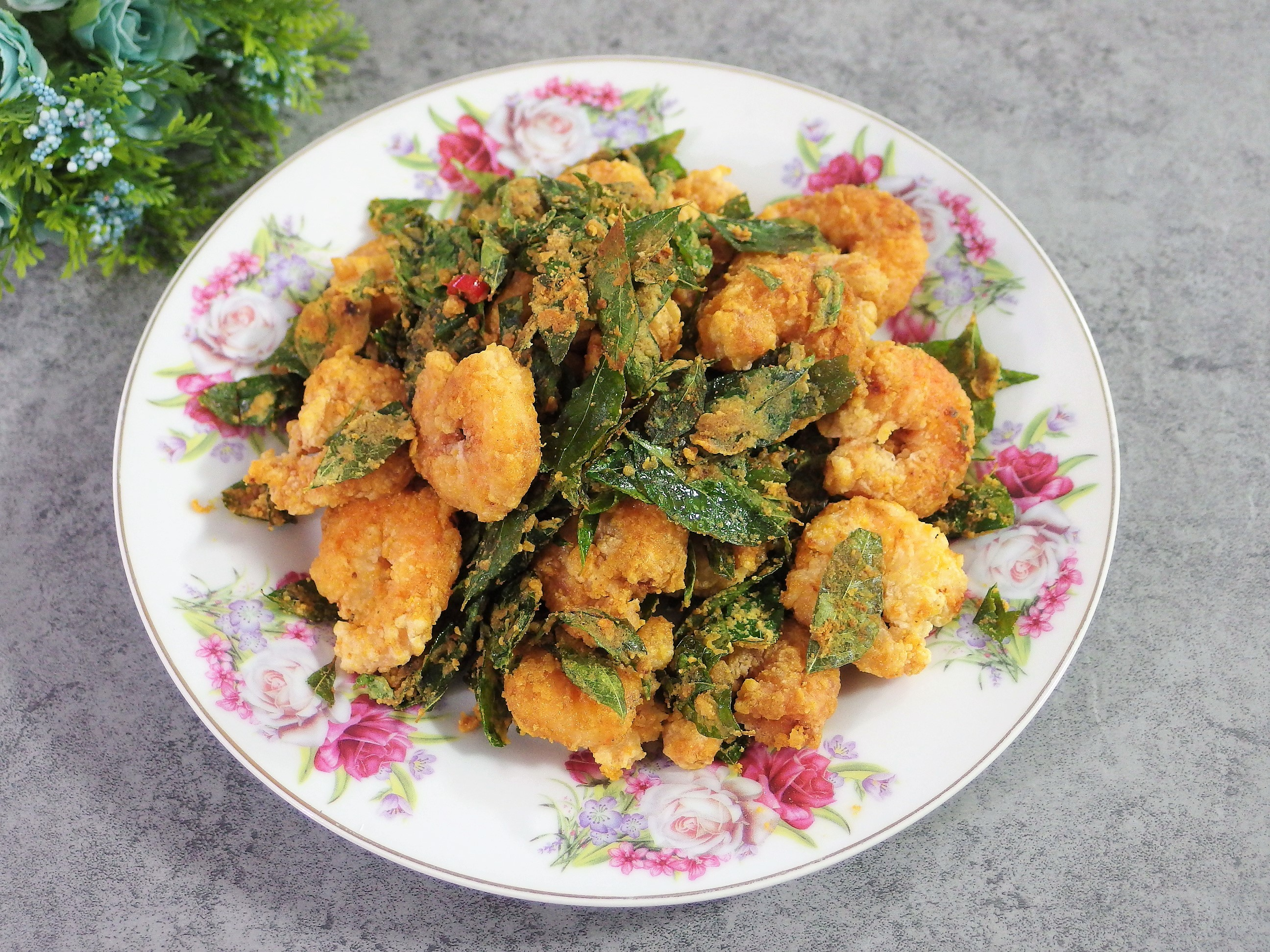 Knorr Salted Egg Powder Recipe - Prawns!