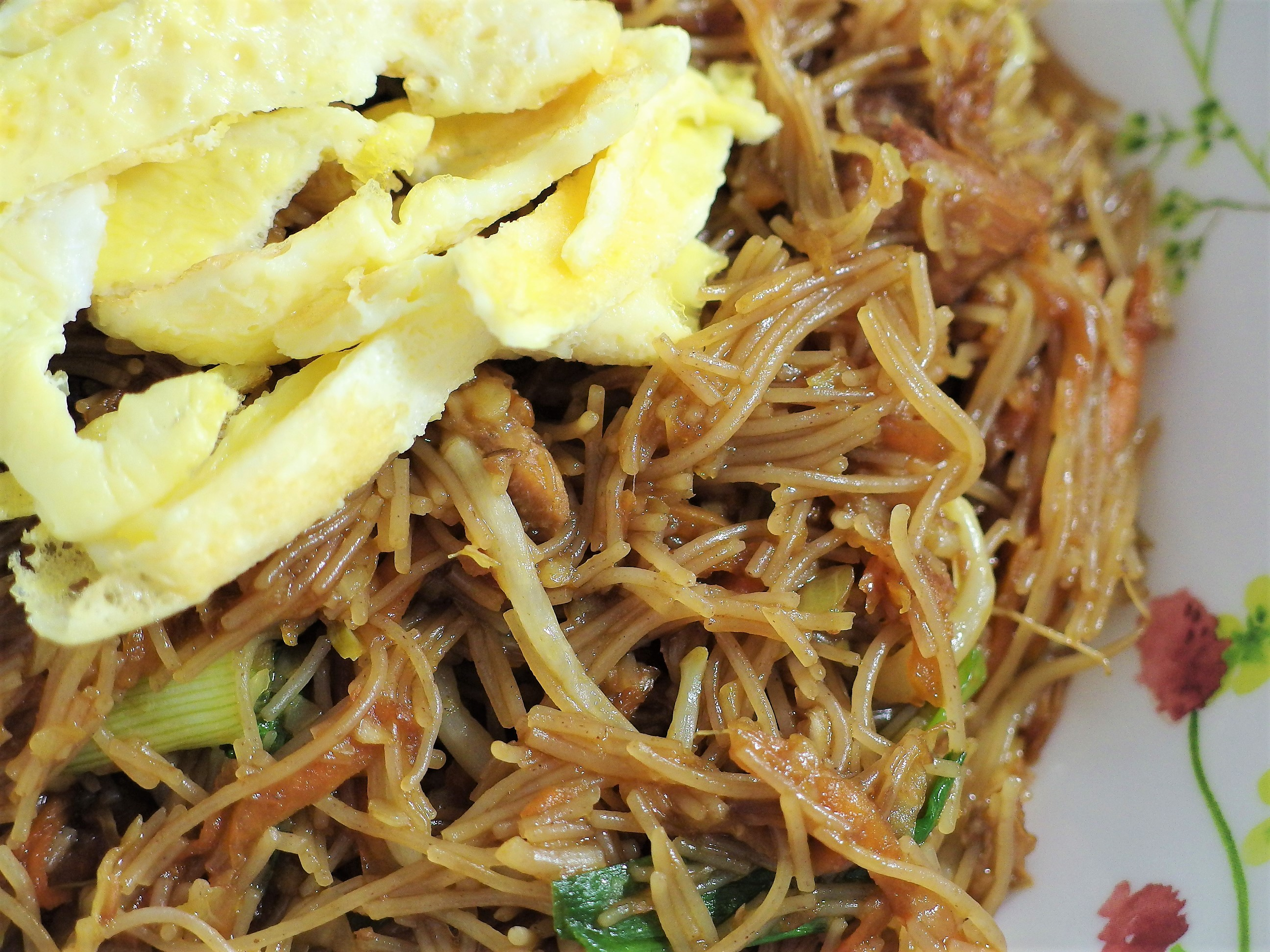 Brown Rice Vermicelli with Stewed Pork