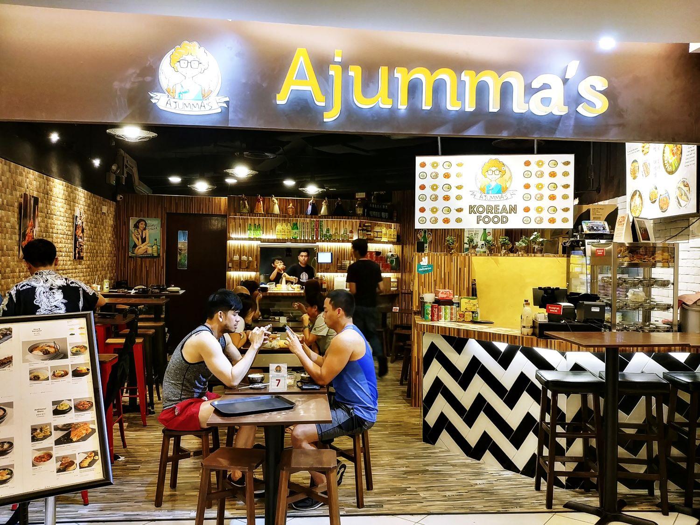Ajumma's Korean Restaurant @ The Cathay