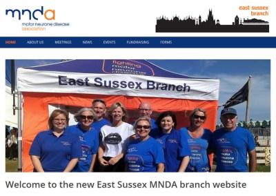 MNDA – East Sussex Branch