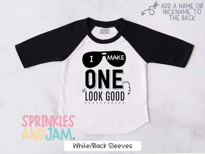 Boys First Birthday Shirt Personalized 1st Birthday Outfit For Boys