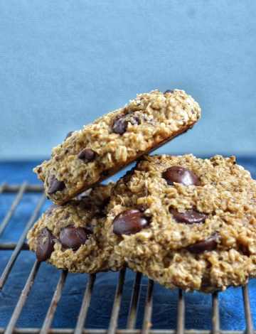 Banana Chia Chocolate Breakfast Cookies