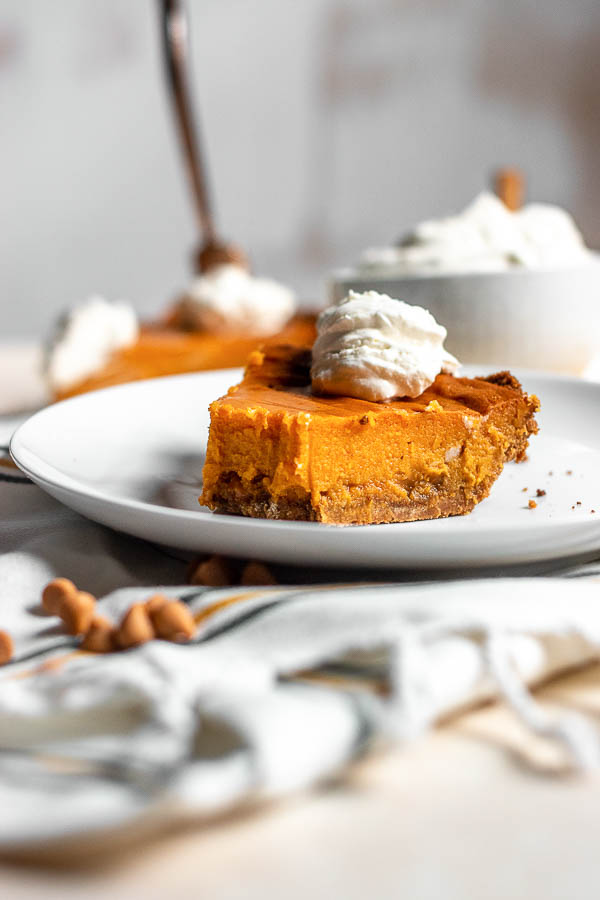 Sweet Potato Butterscotch Pie