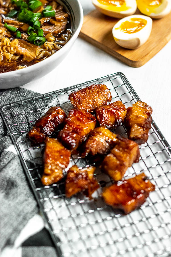 Glazed Pork Belly