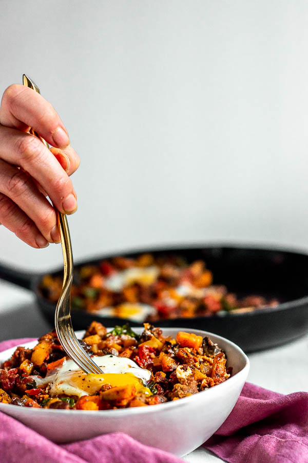 Potato Chorizo Breakfast Hash