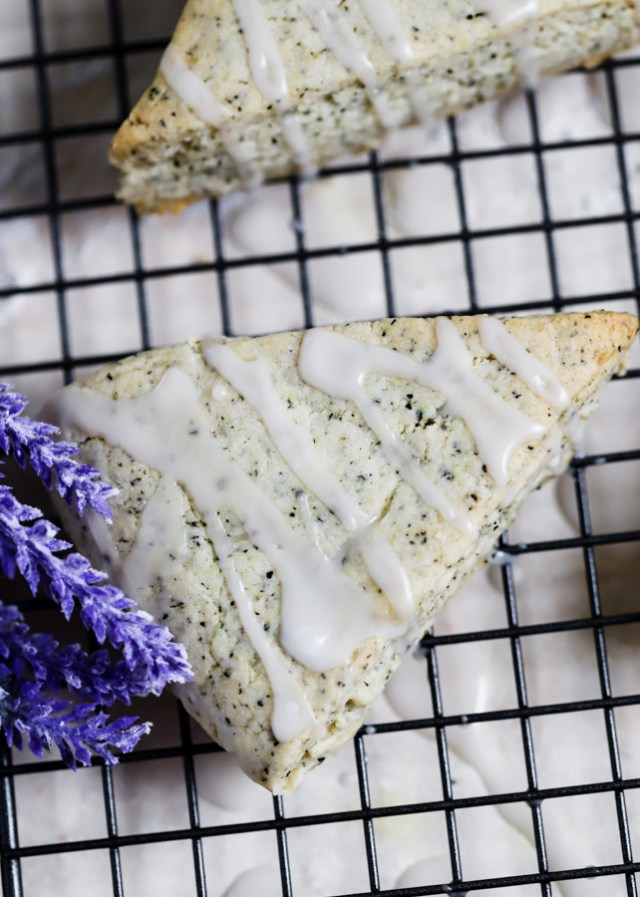 Earl Grey Lavender Scones