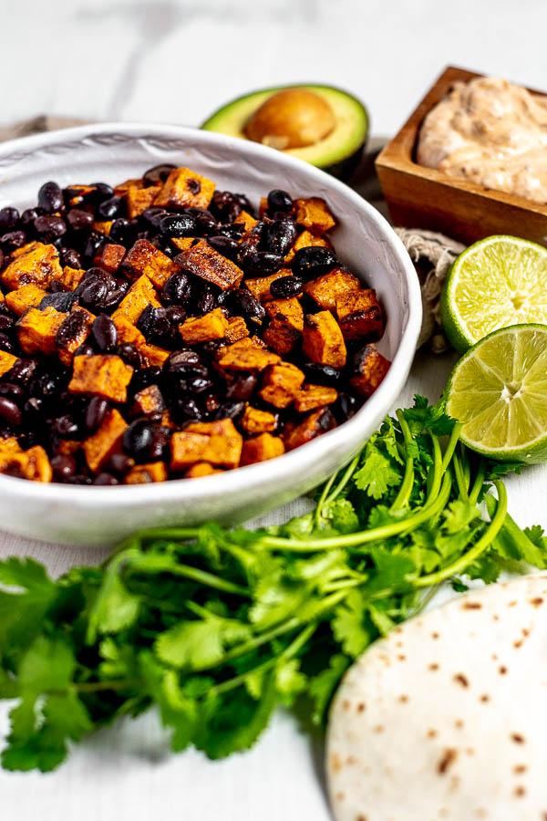 Sweet Potato Black Bean