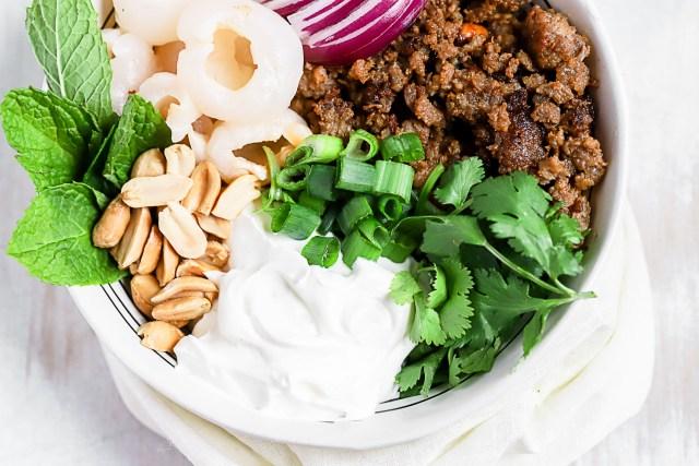 Rose's Luxury Inspired Lychee Salad