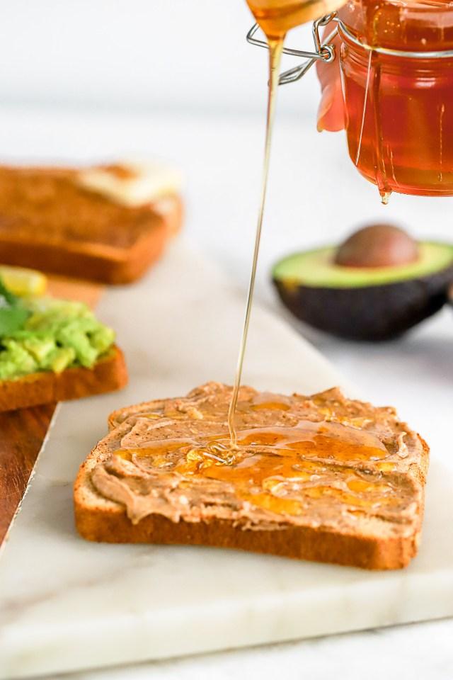 Honey Nut Toast