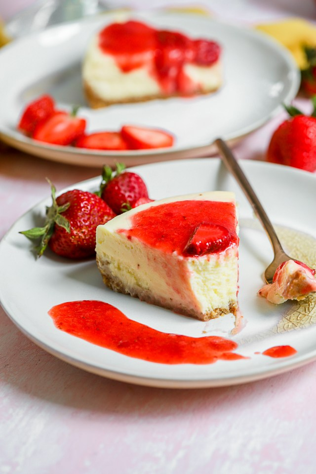 Instant Pot Mascarpone Cheesecake