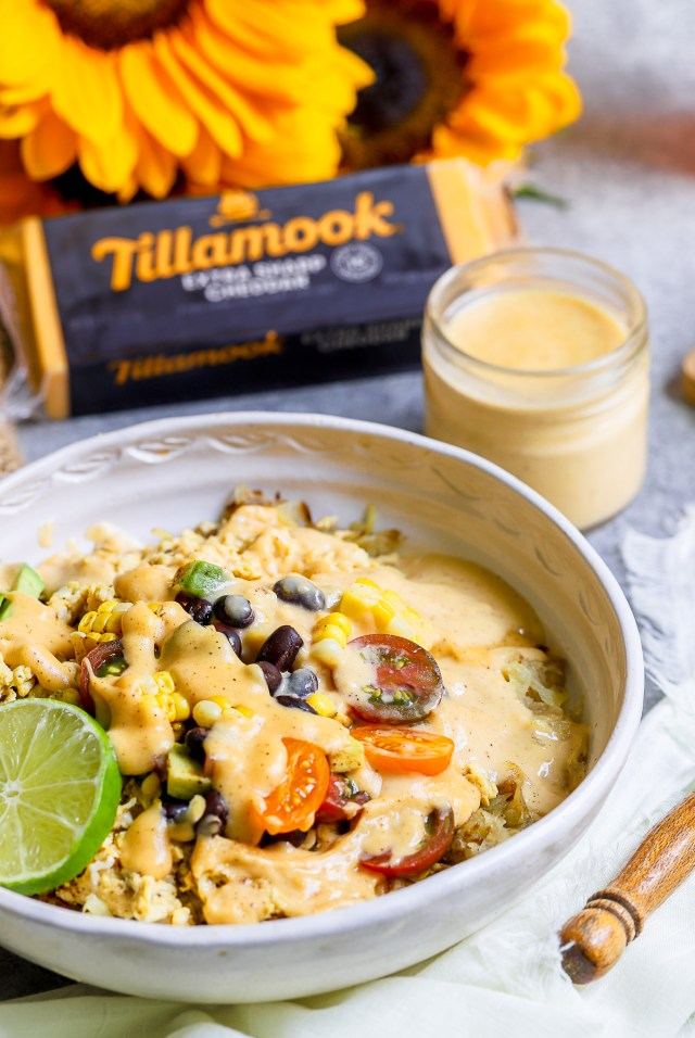 Tillamook Cheesy Breakfast Burrito Bowls