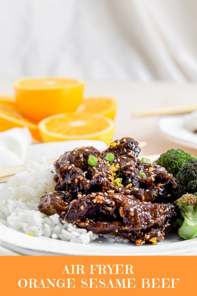 Air Fryer Beef and Broccoli