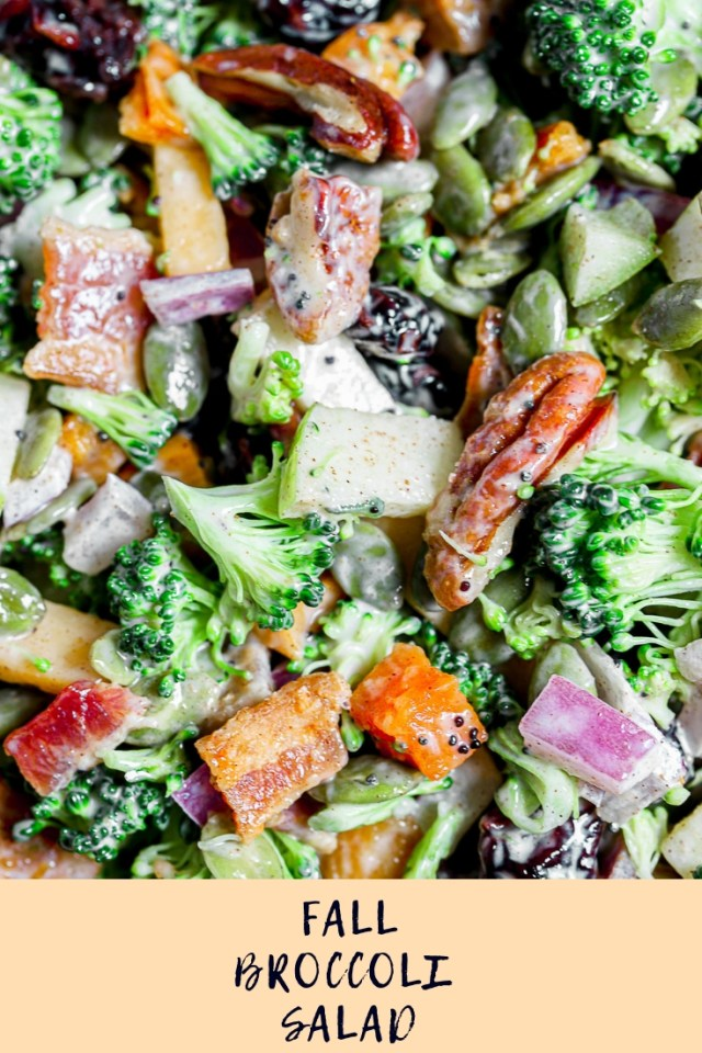Fall Broccoli Salad