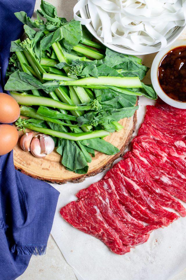 Pad See Ew Ingredients