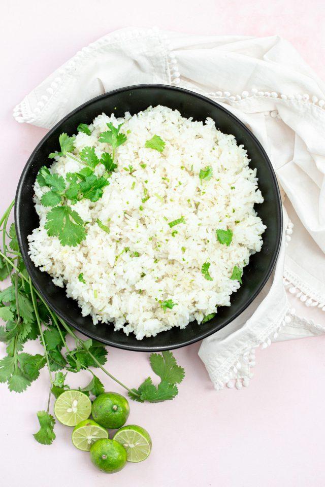 Coconut Lime Jasmine Rice
