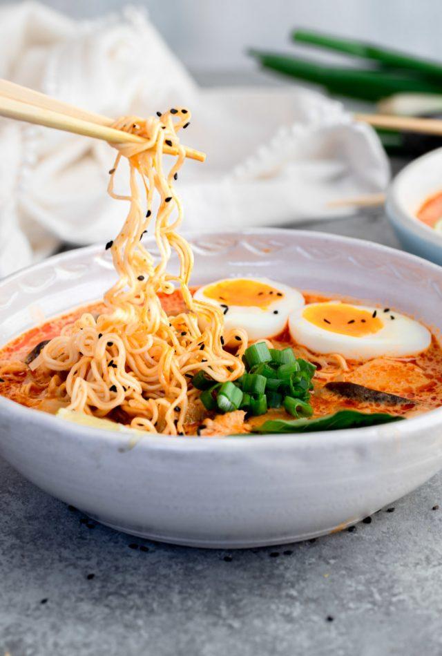 20 Minute Thai Red Curry Ramen