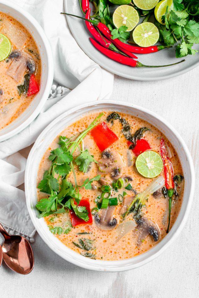 Tom Kha Soup - Thai Coconut Soup