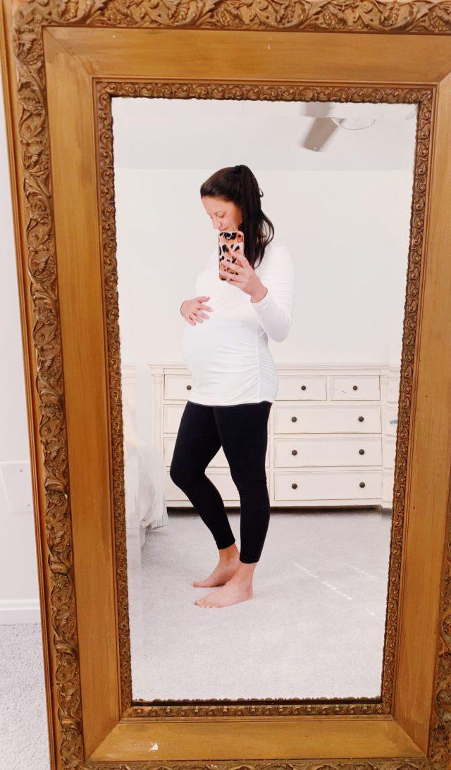 26 week baby bump