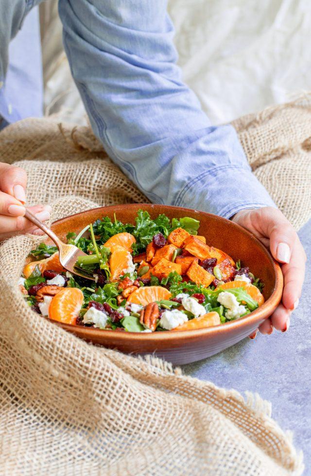 Clementine Fall Harvest Salad