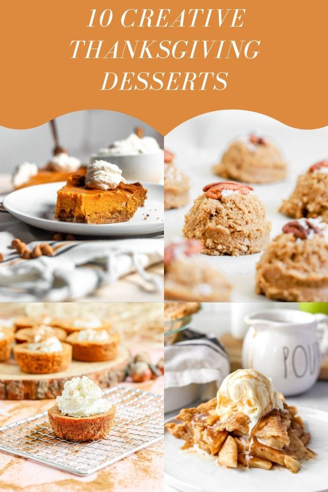 10 Creative Thanksgiving Desserts
