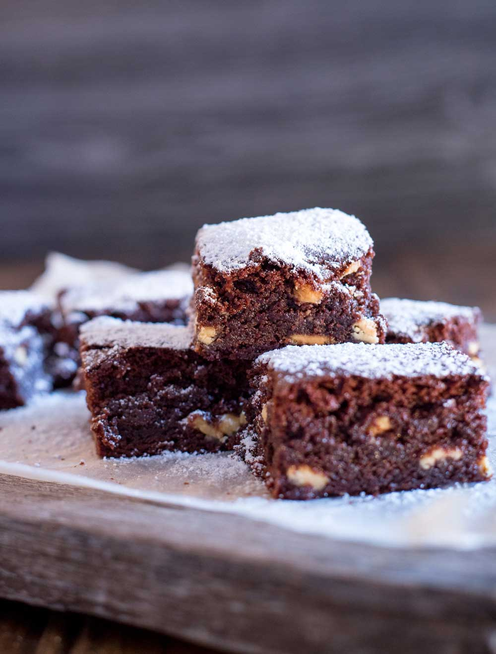 White Choc Chip Fudgy Brownies | Sprinkles and Sprouts