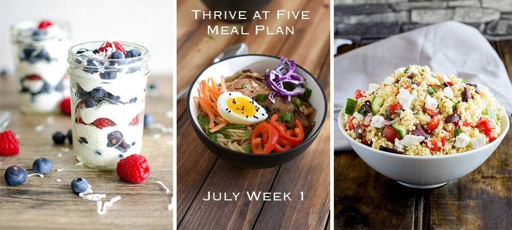 Get a great weeknight menu.