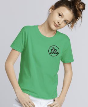 T shirt Bambino Gildan