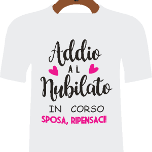 - T-shirt Addio al Nubilato