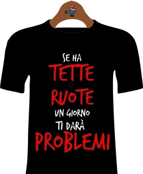 T-Shirt Idea regalo Donna