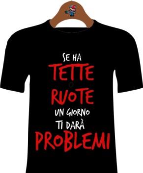 T-Shirt Idea regalo Donna