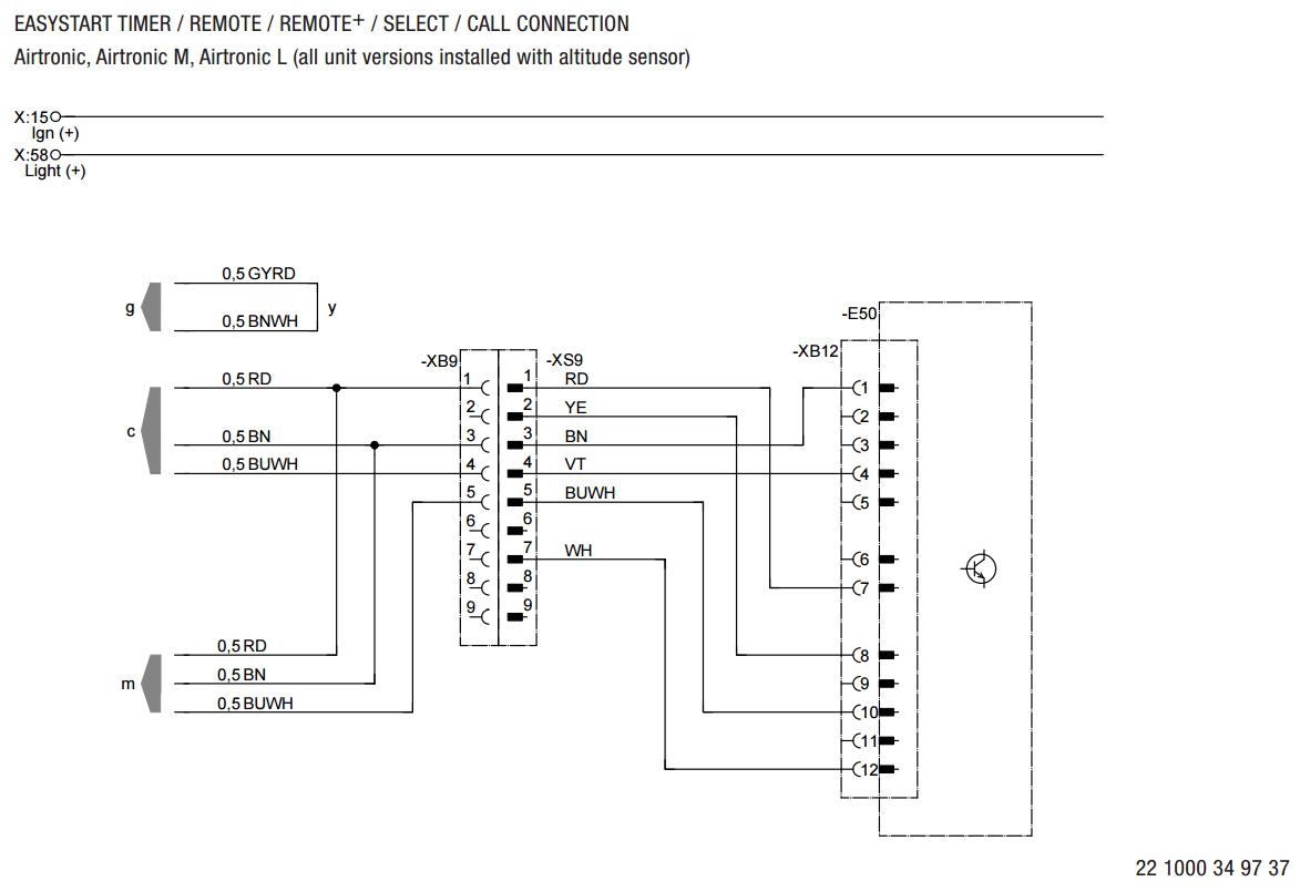 Espar Bunk Heater Wiring Schematic - Home Wiring Diagrams on