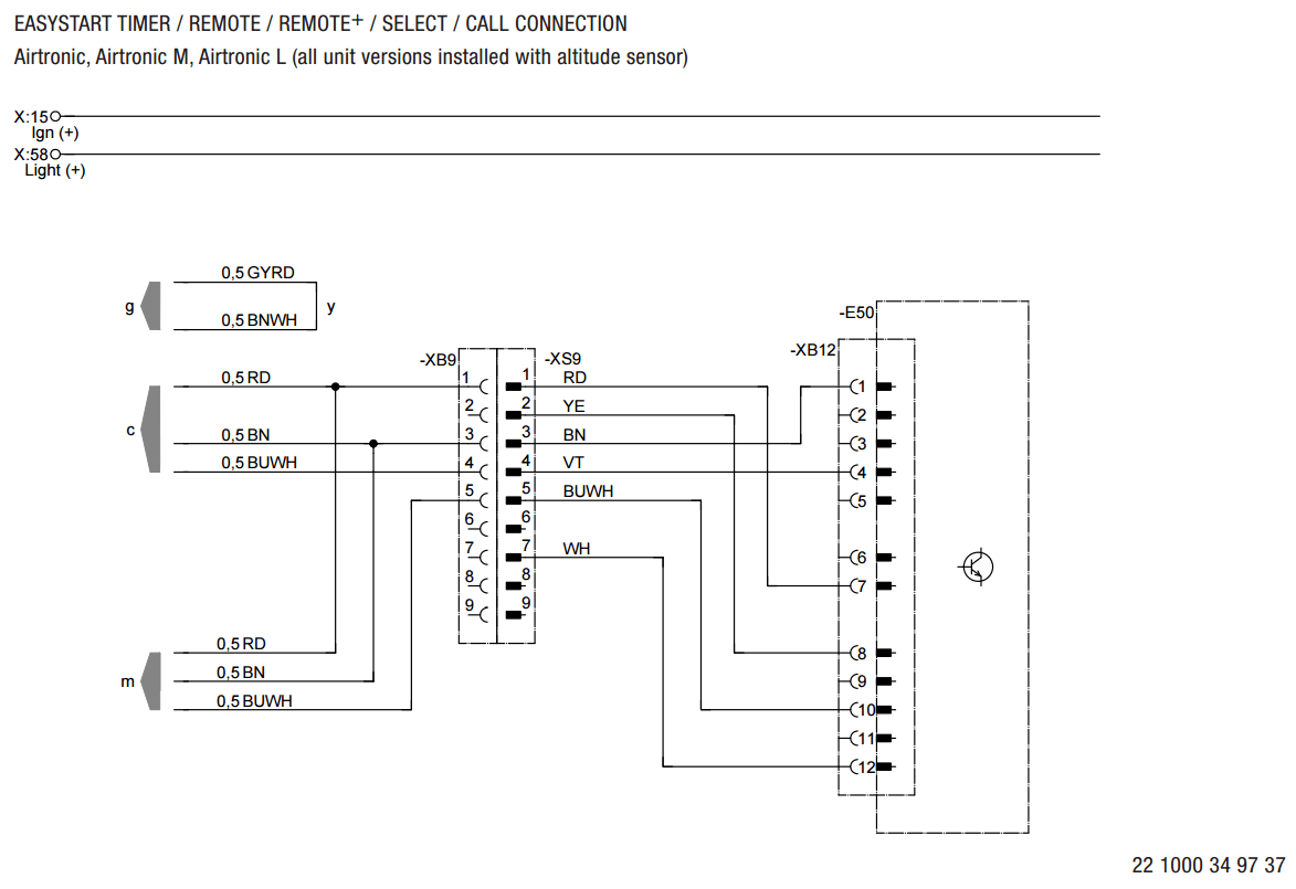 Eberspacher Heater Control Wiring Diagram - Somurich.com on