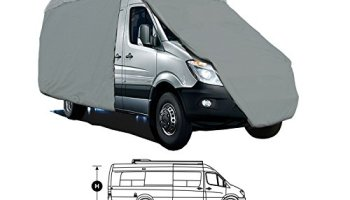 class b 4-layer rv motorhome high bubble top conversion van cover fits up  to 24' w/36