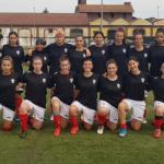 Esordio assoluto della Pro Vercelli contro le Under del Torino, la prima storica rete è di Ginevra Dondolin