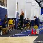 Katharine Montstream Long Jump Takeoff