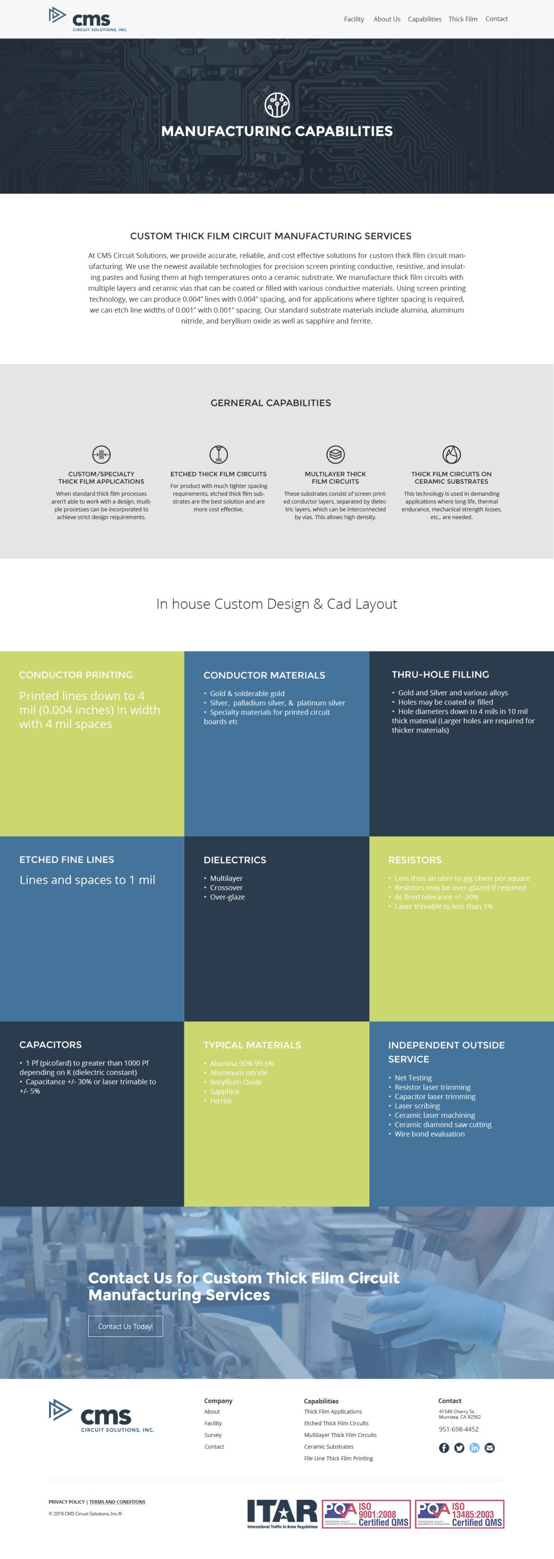 creative web design CMS capabilities