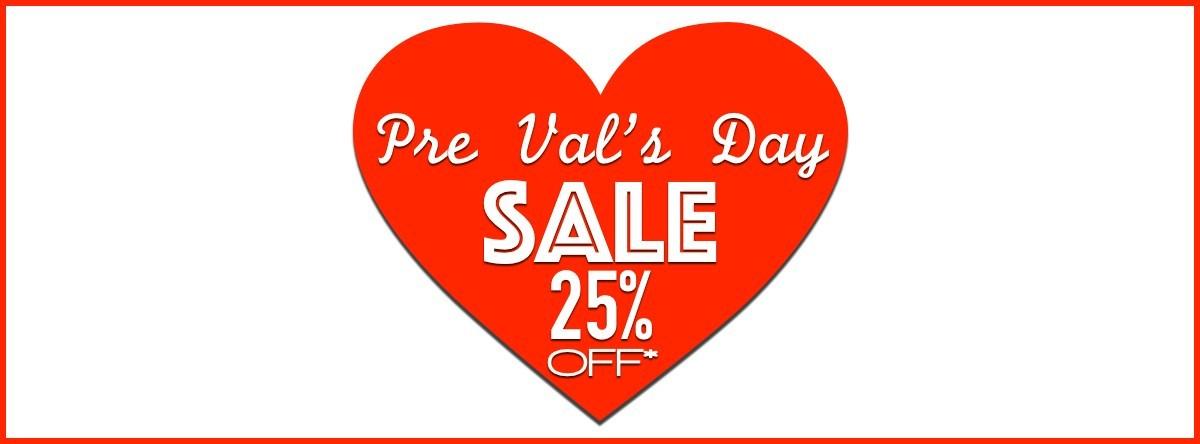 Vday sale