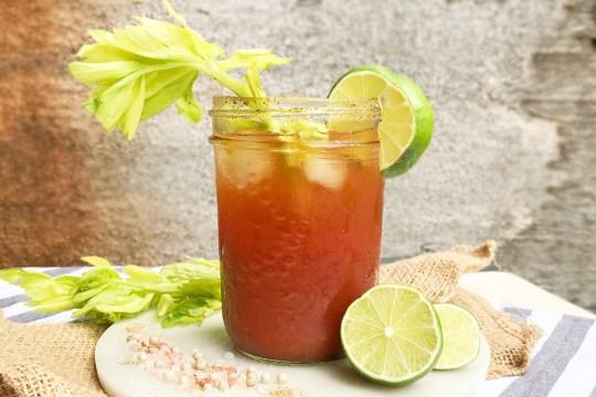 Homemade Clamato Caesar