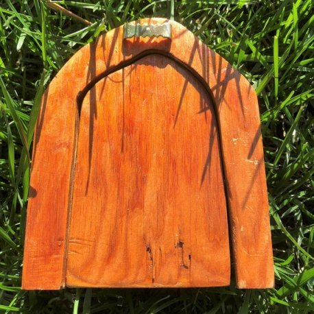 Small Outdoor Fairy Door handmade by Sprouted Dreams3