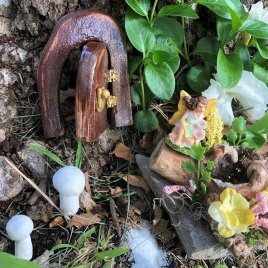 Fairy Garden Kit Pixie Sized Handmade from Sprouted Dreams (8)