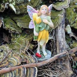 Standing Yellow Fairy