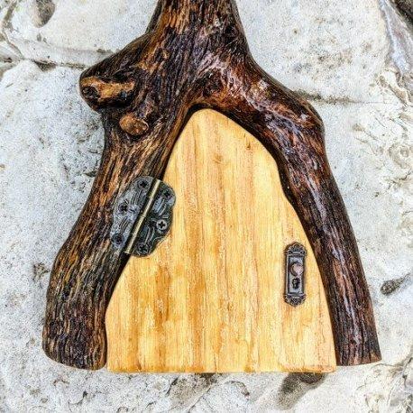 Natural Wood Fairy Door