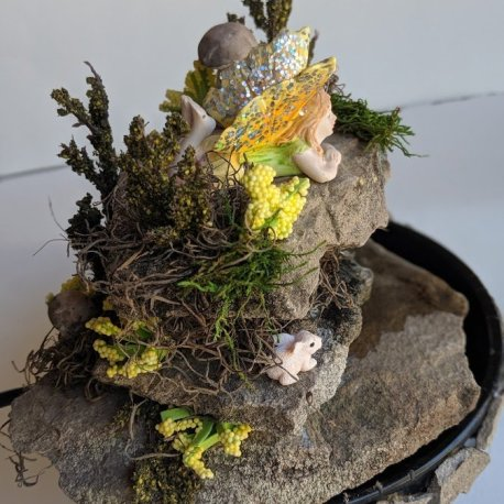 Fairy Fountain Handmade by Sprouted Dreams4