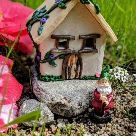 Gnome Cottage Handmade by Sprouted Dreams7