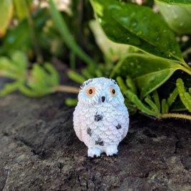 Miniature Snowy Owl