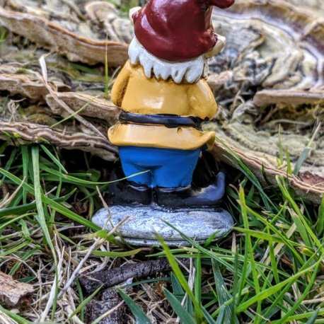 Yellow Gnome with Shears2