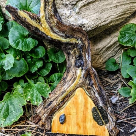 Enchanted Glow Faerie Door Handcrafted by Sprouted Dreams8