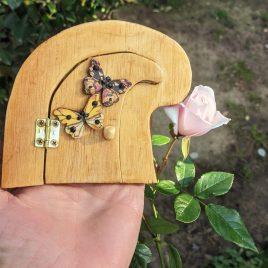 Butterfly Pixie Door